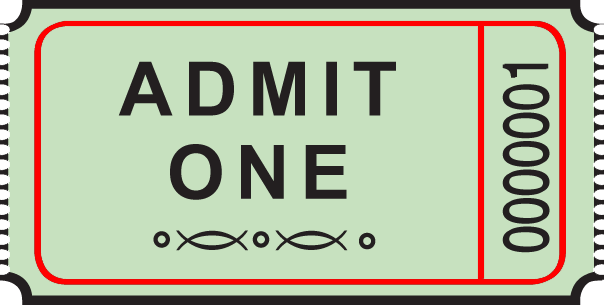 Stock Single Roll Tickets